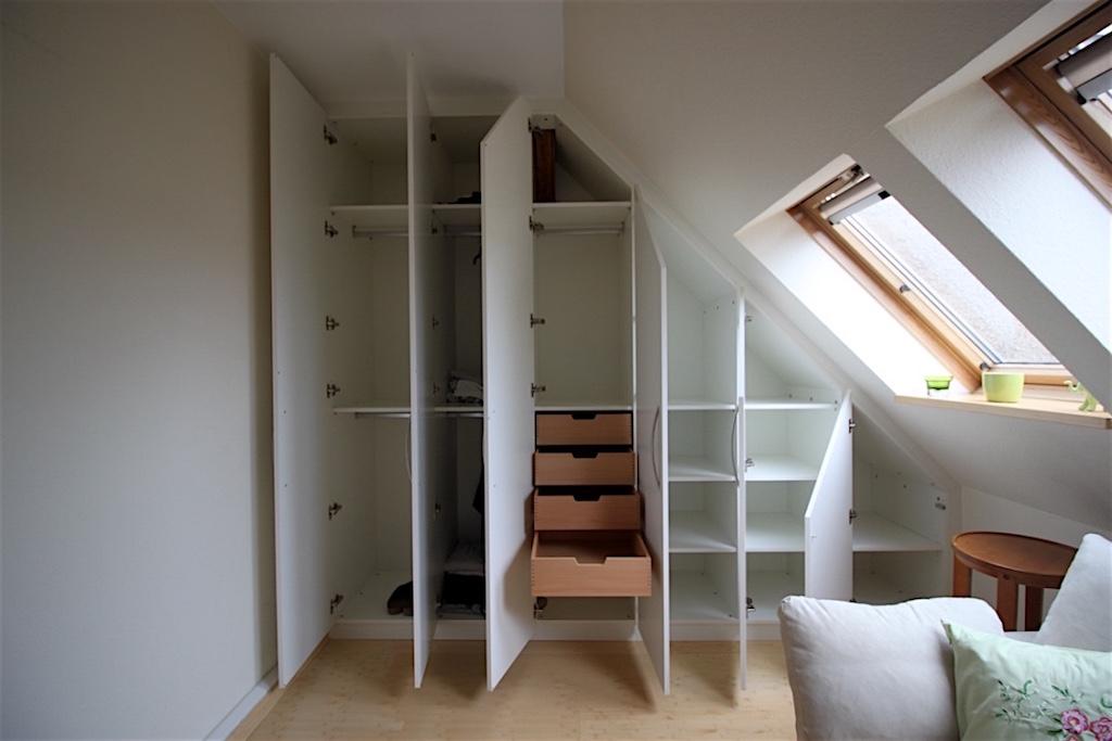 dachschr genschr nke schr nke f r dachschr gen cabinetworks individuelle m belgestaltung. Black Bedroom Furniture Sets. Home Design Ideas