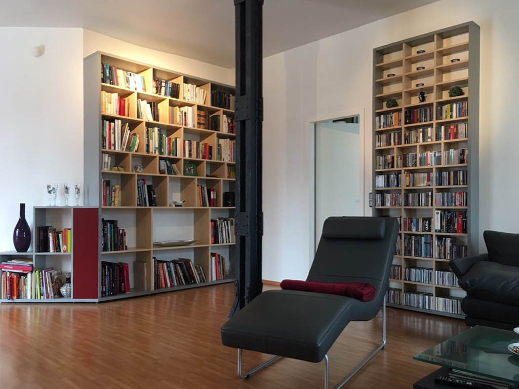 b cherregale und einbauregale. Black Bedroom Furniture Sets. Home Design Ideas